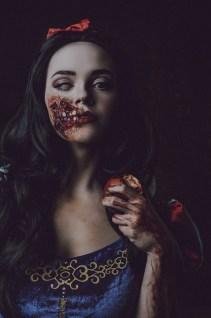 Undead Snow White by JessD - Makeup by Jacinthe Hélary