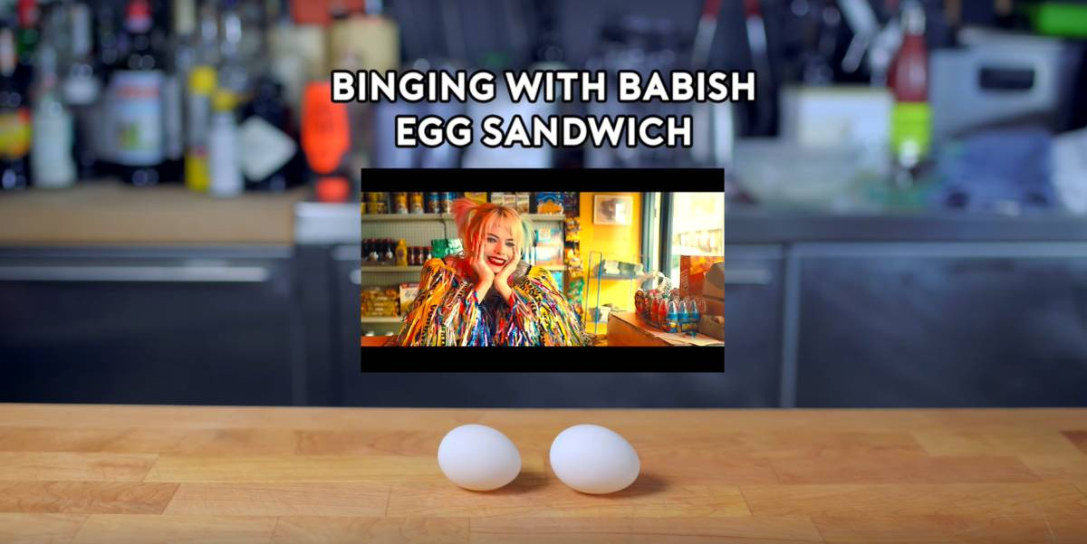 Making Harley Quinn S Prefect Egg Sandwich From Birds Of Prey