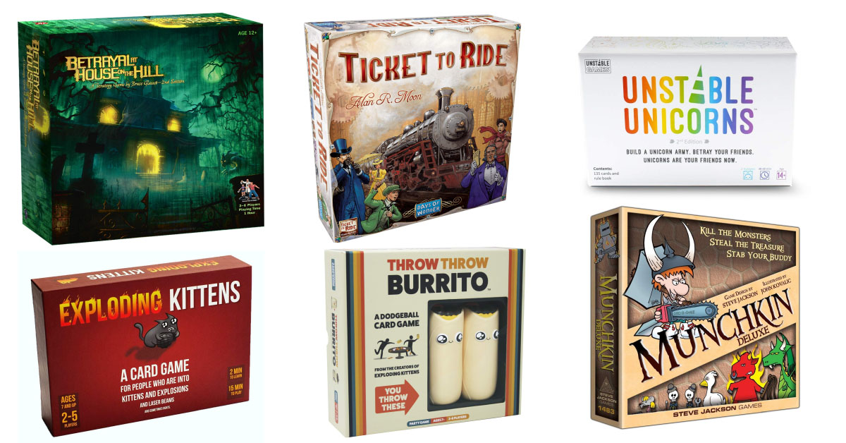 AMAZING Amazon Sale: Save $25 when you spend $100 on HUNDREDS of Geektastic Board Games, Books, and More!