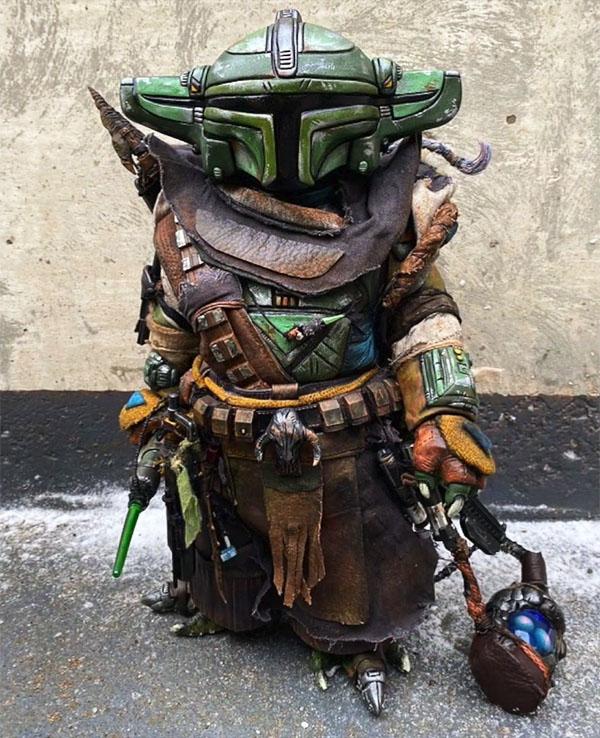 Baby Yoda Bounty Hunter