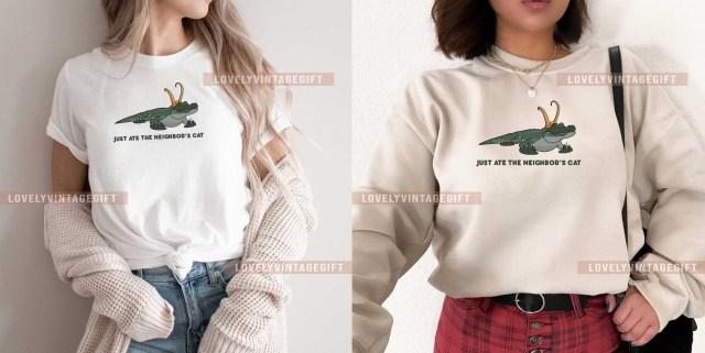 Alligator Loki Shirt
