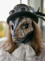 Steampunk Raptor - Photo by Geeks are Sexy at Quebec City ComicCon 2021