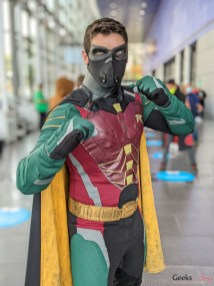 Robin - Photo by Geeks are Sexy at Quebec City ComicCon 2021