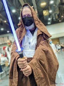 Obi-Wan Kenobi - Photo by Geeks are Sexy at Quebec City ComicCon 2021