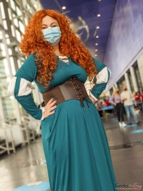 Merida - Photo by Geeks are Sexy at Quebec City ComicCon 2021
