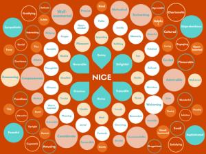 100 Ways to Say 'Nice'