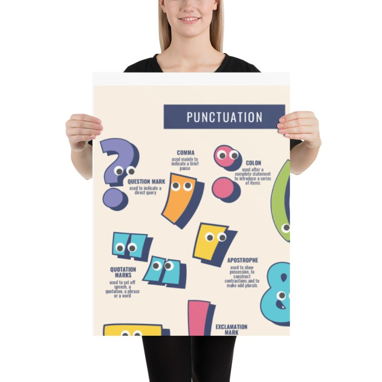 Key stage 2 punctuation poster