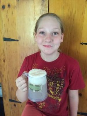 learning with harry potter - drinking butterbeer