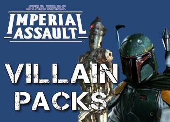 Villain Packs for Star Wars Imperial Assault Game