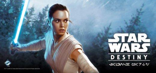 Star Wars Destiny Rey Art