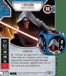 Star Wars Destiny - Kylo Ren Card and Dice
