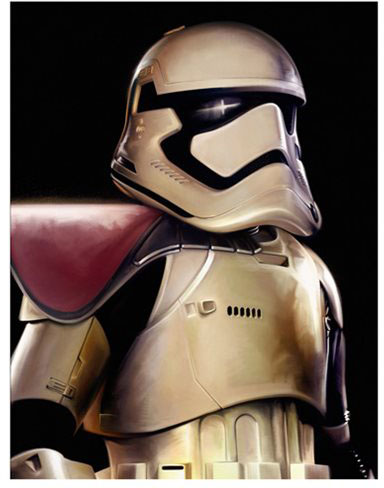 Star Wars Giclee Print The Force Awakens Stormtrooper