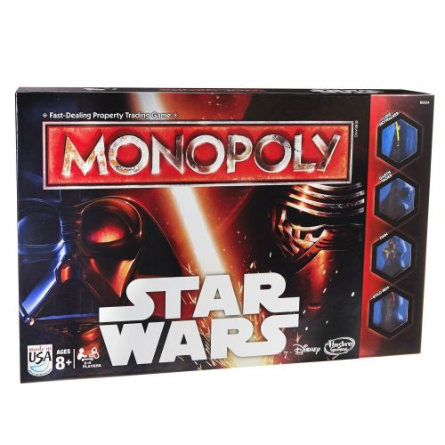 Star Wars Monopoly Disney Force Awakens