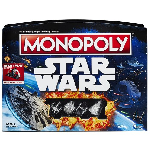 Star Wars Monopoly from Hasbro