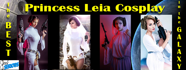 The BEST Princess Leia Cosplay in the Galaxy - geekSerious