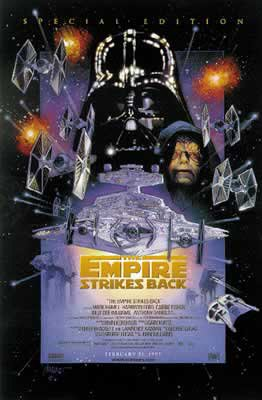 The Empire Strikes Back Special Edition Star Wars Movie Poster