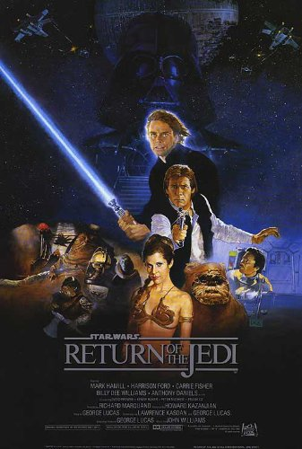 Return of the Jedi Movie Poster 1