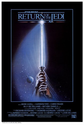 Return of the Jedi Star Wars Movie Poster