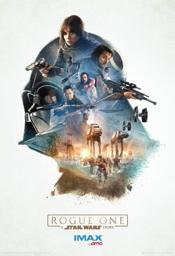 Star Wars Rogue One IMAX Movie Poster AMC