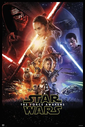The Force Awakens Star Wars Movie Poster