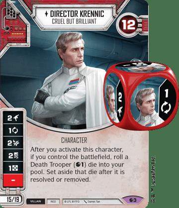Star Wars Destiny Spirit of Rebellion Director Krennic
