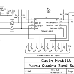 Yaesu Quadra Manual Band Switch