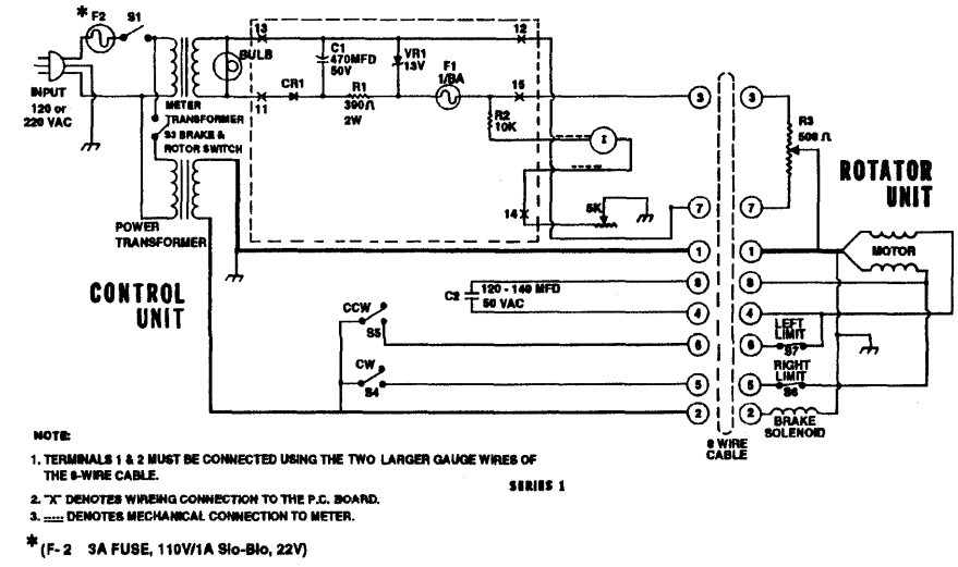 Cde Ham Rotor Wiring Diagram. solutions for ham iv rotator by va2na.  interfacing a microcontroller arduino to a cde antenna. wiring diagram for  cde 44 rotor. cde ham radio antenna rotor and2002-acura-tl-radio.info