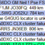 Getting the DX Cluster to Work on KST2Me