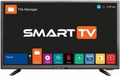 Kevin 80 cm (32 Inches) HD Ready LED Smart TV K32CV338H