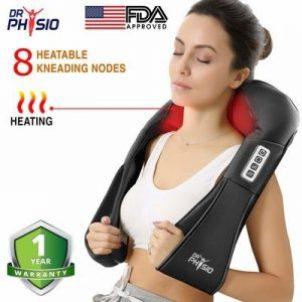 Dr Physio (USA) Electric Heat Shiatsu Machine Body Massagers
