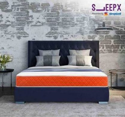 Sleepx Presented By Sleepwell Dual Mattress