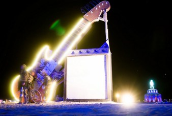 Burning Man is all about art *and* music
