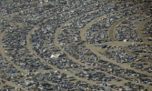 Over 50,000 people attend Burning Man each year