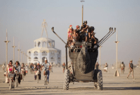 Travel at Burning Man comes in all shapes and sizes