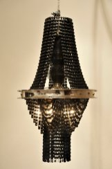 Bicycle part chandelier