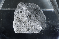 A genuine moon rock