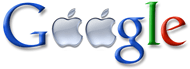 Google Apple Fake Logo
