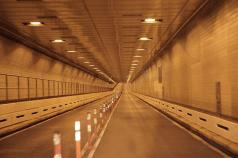Empty tunnel in New York City