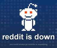 Reddit is down notification