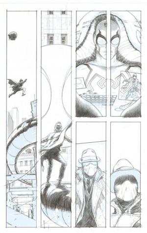 Sample artwork from DC's new Multiversity comic book series
