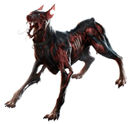 Zombie dog from Resident Evil video game