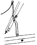 Trebuchet trigger mechanism