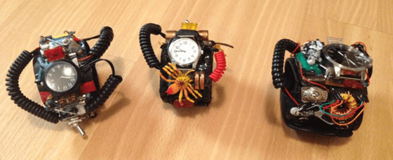 Cool steampunk watches
