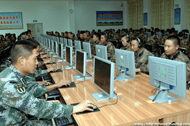 Room full of Chinese hackers in China