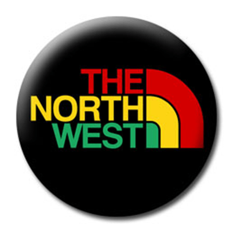 The North West (North Face parody logo)