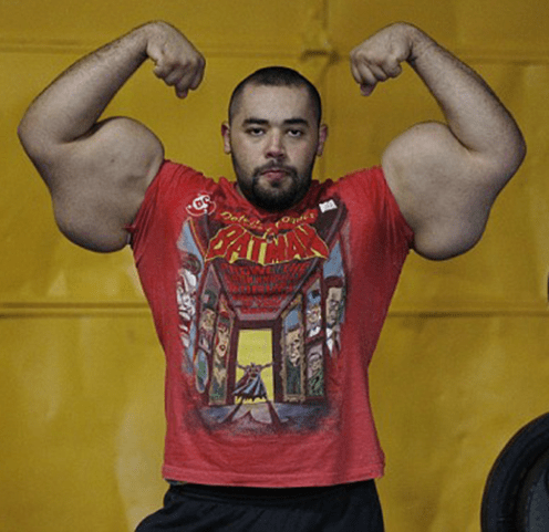 World record - biggest arms