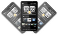 Shaking smartphone
