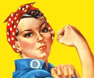 Rosie the ironworker - community service