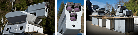 Laser weapon system from Rheinhall