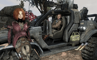 Screenshot from the Defiance video game
